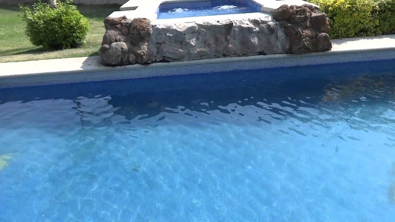 piscina y jacuzzi casa en renta para fin de semana youtube