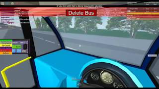 TORP ROBLOX, Bus showcase and driving route R1 Green street Green (Second video)