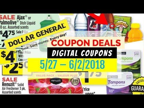 Dollar General Coupon Deals May 27 - June 2, 2018