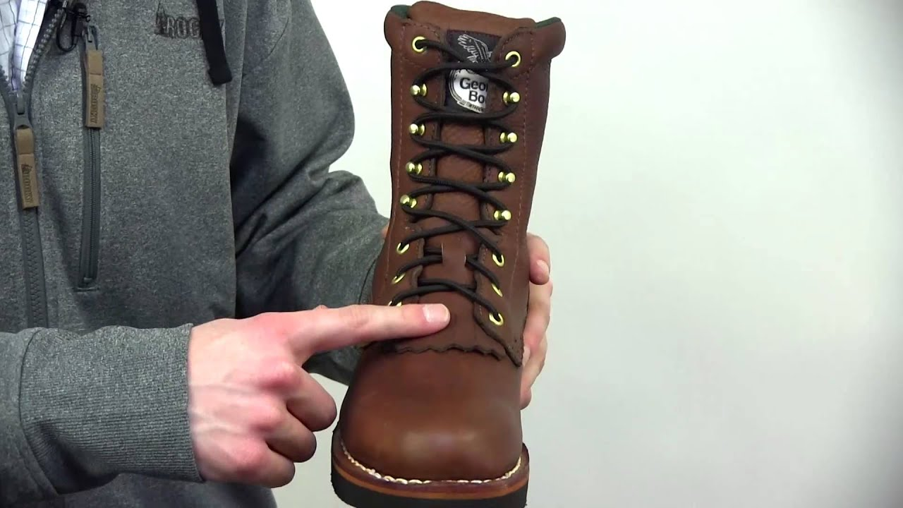 c670a7ab1dc Georgia Farm and Ranch Lacer Work Boots Style# - G7014