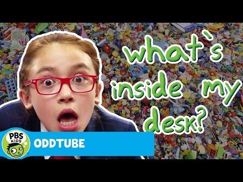 ODDTUBE   What's Inside My Desk?   PBS KIDS