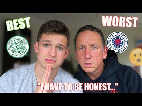 RANKING SCOTTISH PREMIERSHIP BADGES - Celtic Or Rangers?