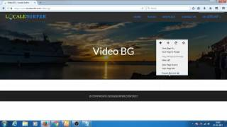 fixed video background not playing working in chrome browser supreme directory theme wordpress