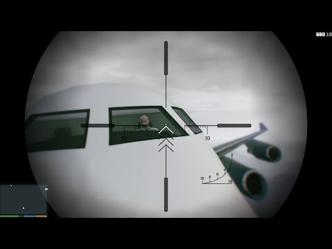 How to Scare the Pilot! (Gta 5 Funny Moments)