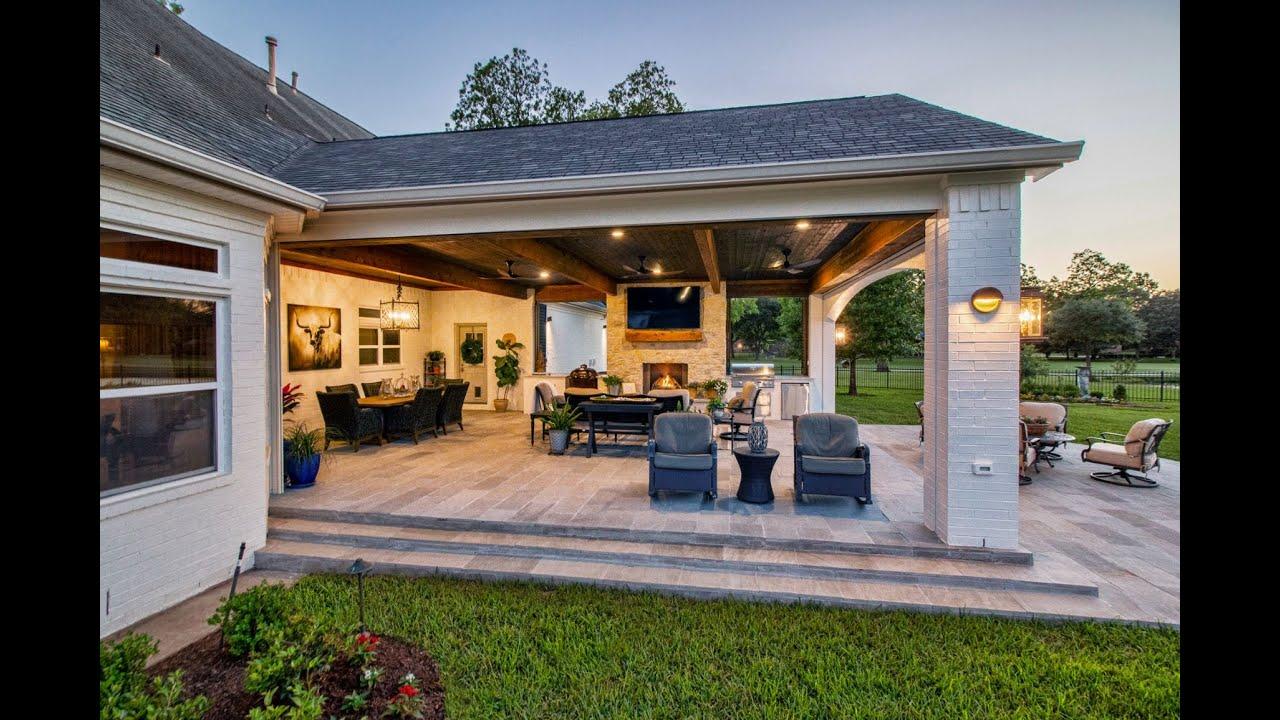 tradition outdoor living custom patio