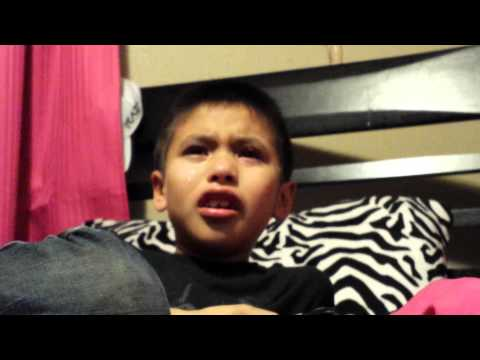 Say something Im giving up on you  8yr old Kadin crying for his mom, who s far away