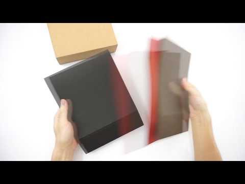 Folding Kraft Paper Drawer Boxes with Interlayer