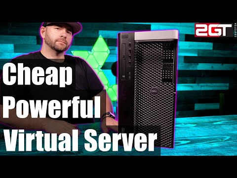 Cheap and Powerful Home Virtual Server - $300 GETS YOU A TON OF POWER!