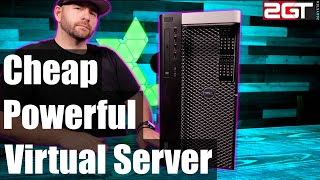 Cheap and Powerful Home Virtual Server - $300 GETS YOU A TON OF POWER! (2019)