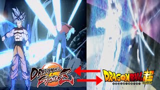 All Ultra Instinct Goku Anime References In Dragon Ball FighterZ