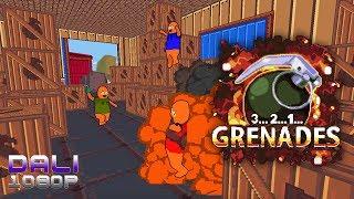 3..2..1..Grenades! Local Versus PC Gameplay 1080p 60fps