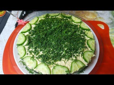 Салат Курочка Ряба, цыганка готовит. Gipsy Cuisine.