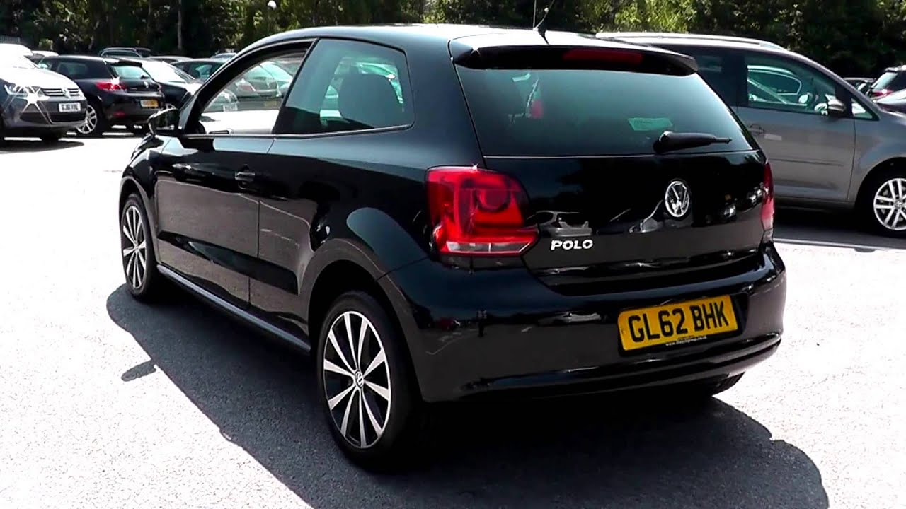 2012 volkswagen polo hatch match deep black metallic. Black Bedroom Furniture Sets. Home Design Ideas