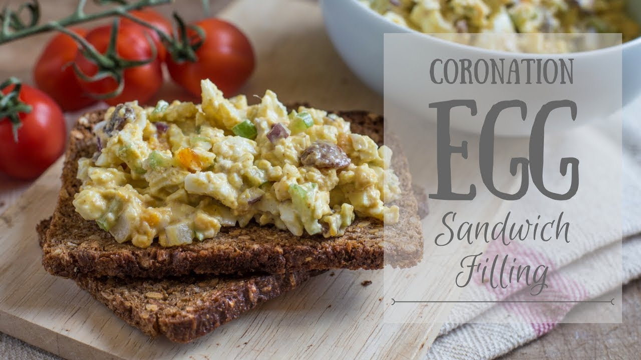 Coronation Egg Sandwich Filling Campervan Camping Food