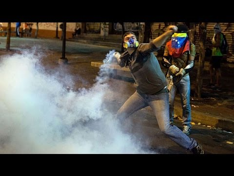 Venezuelan protesters: 'we're tired of you Maduro'
