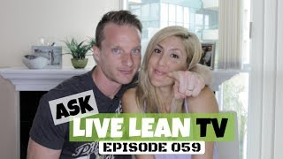 Getting Your Abs To Pop, Creatine, Resistant Starches   #AskLiveLeanTV Ep. 059