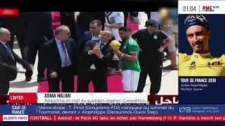 Rues bloquées, scènes de liesses... Le peuple algérien fête le deuxième sacre de l'Algérie à la CAN