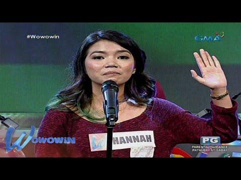Wowowin: 'Ako 'Yung Tipo ng Babae' by Hannah Pabilonia