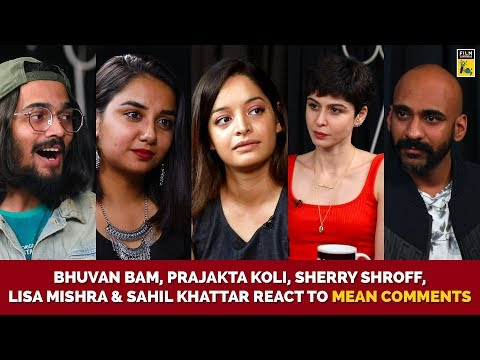Bhuvan Bam, Prajakta Koli, Sherry Shroff, Lisa Mishra & Sahil Khattar React To Mean Comments