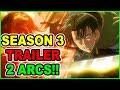 LONG SEASON 3 CONFIRMED! Levi Vs Kenny! Attack on Titan Season 3 Trailer Shingeki no Kyojin Season 3