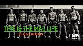 Conor McGregor spars while filming Bad Blood for Diaz rematch #TheMacLife