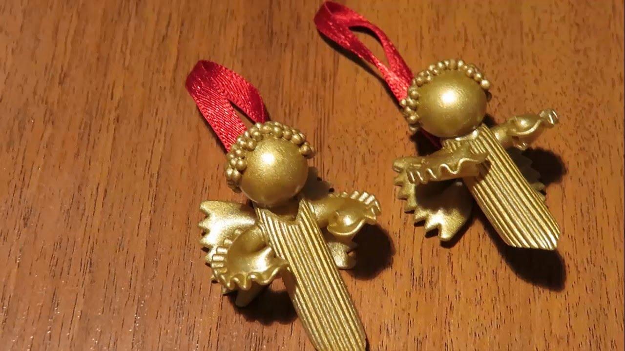 Jak Zrobić Ozdoby świąteczne Z Makaronu Stressfreepl