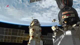 Timelapse в 4К: модуль «Наука» над Землей