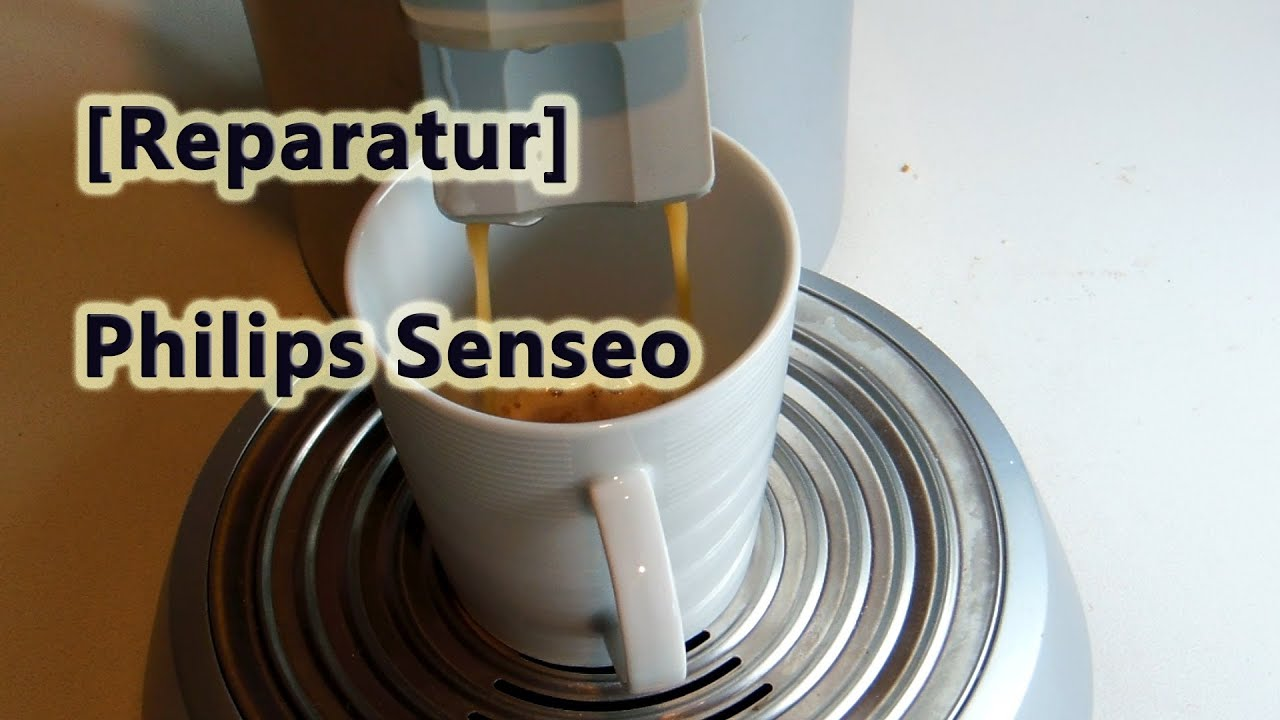 reparatur philips senseo kaffeemaschine kondensatorschaden youtube. Black Bedroom Furniture Sets. Home Design Ideas