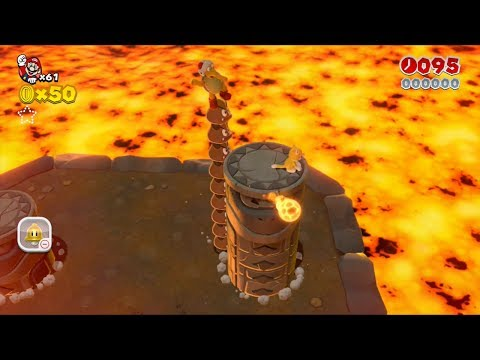 Super Mario 3D World: World 5-B (Fire Bros. Hideout #2) [1080 HD]