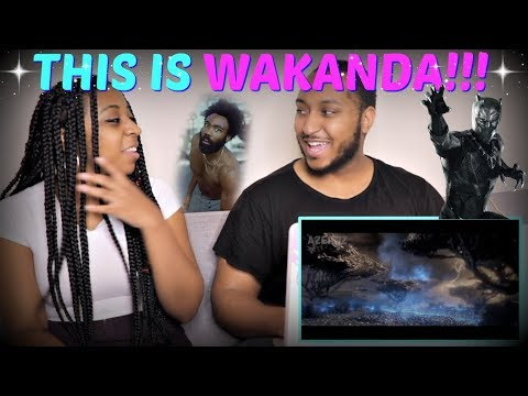 "Azerrz ""Black Panther - This Is Wakanda (Childish Gambino ""This Is America"" Parody)"" REACTION!!"