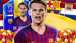 FIFA 19: TOTS Frenkie DE JONG Squad Builder Battle 😍🔥