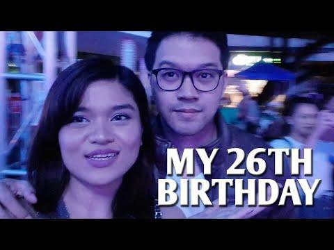 #ADULTING With TRISH | #LATEVLOGMAS: My 26th Birthday