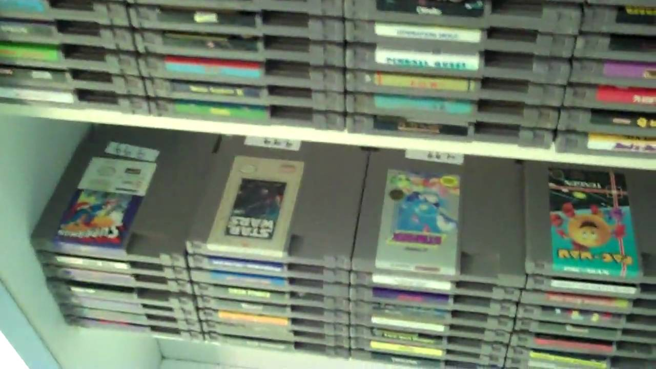 Game Store walkthrough- Retro Gamer