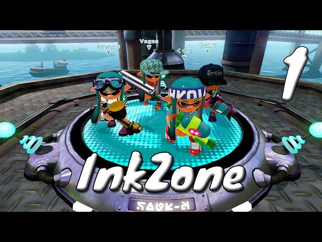 [1] InkZone (Lets Play Splatoon Multiplayer w/ GaLm)