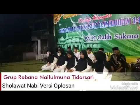 Sholawat Nabi Versi Oplosan voc. Nahida Nur Fatimah