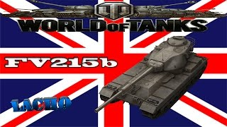 World of Tanks FV215b Gameplay - 7 Kills 6,7K DMG