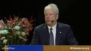 Nobel Lecture: Richard Thaler, The Sveriges Riksbank Prize in Economic Sciences thumbnail
