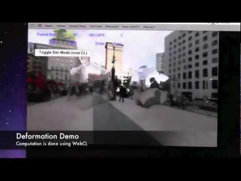 Samsung WebCL Demo untuk Aplikasi Tizen