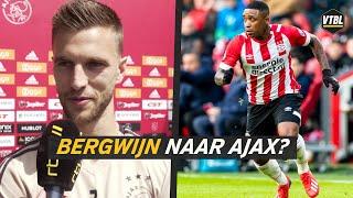 Joël Veltman vindt Steven Bergwijn een 'hele goede speler'