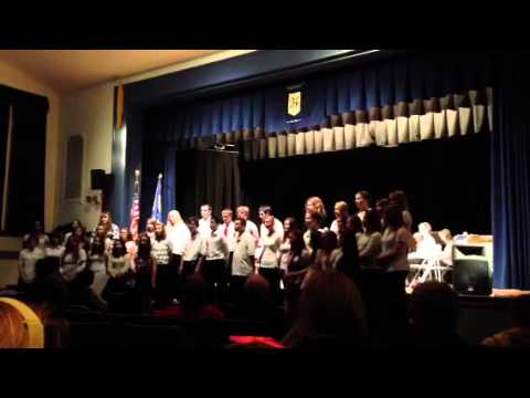 Harpursville NY Sr Choir Dec 2012