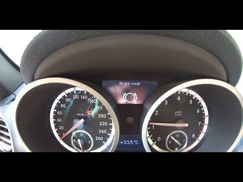 Mercedes-Benz SLK R171 - Brake Sensor Replace