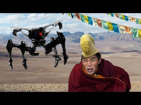 China Will Use Drones to Hunt Tibetans | China Uncensored
