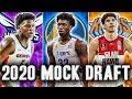 2020 NBA Mock Draft | Start Of The Season Edition