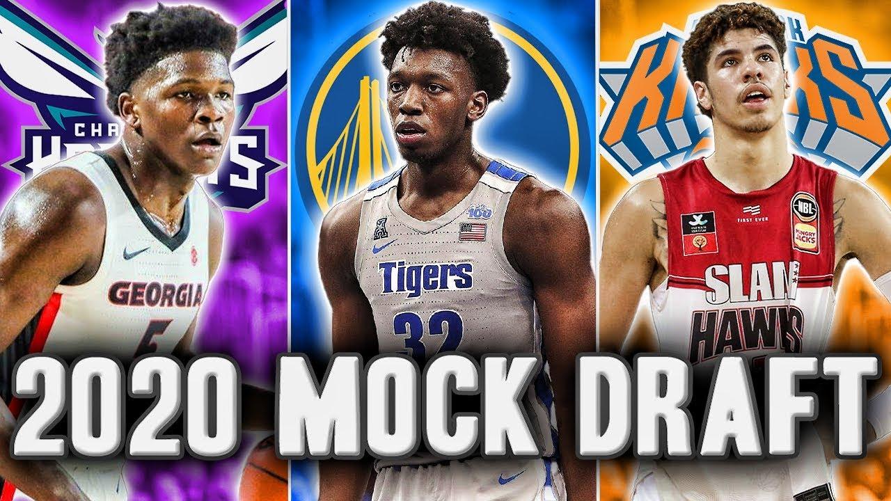 2020 Nba Draft List.2020 Nba Mock Draft Start Of The Season Edition