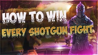 HOW TO WIN EVERY SHOTGUN FIGHT IN FORTNITE / HOW TO GET MORE HEADSHOTS