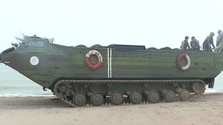 Украинские военные устанавливают подводные мины на Азовском побережье