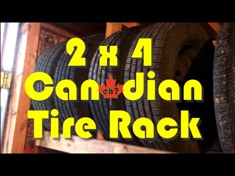 Canadian Tire Rack