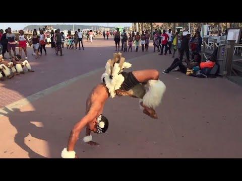African Zulu Warrior Dance