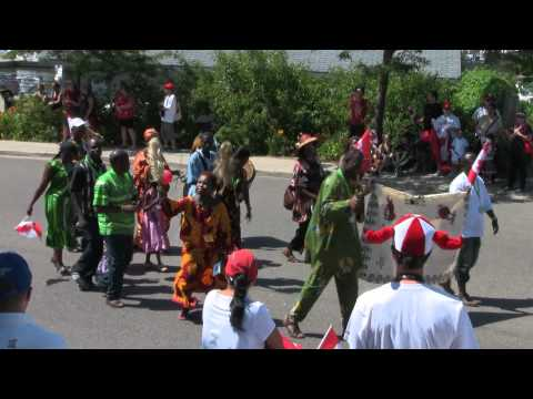 Canada Day Parade 2012 - Port Credit