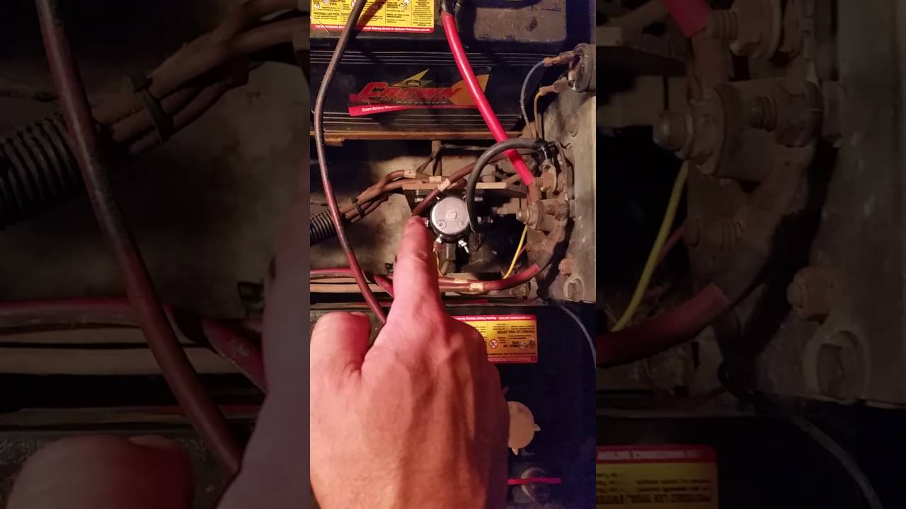 1992 ezgo solenoid wiring for dummies - YouTubeYouTube